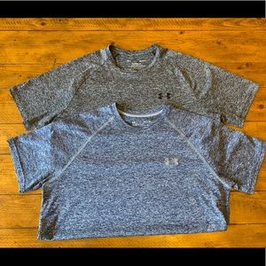 *BUNDLE* of two Under Armour Tech tees